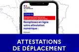 COVID-19 - Attestations de déplacement