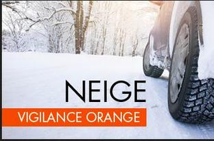 Alerte météo - vigilance orange Neige -  mesures de restriction de circulation prises et à venir