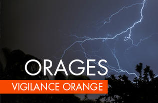 Vigilance Orange pour orages violents en Haute-Vienne
