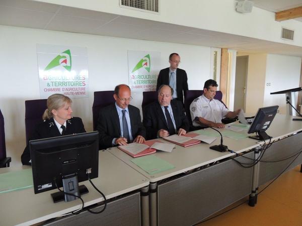 Plan d partemental de s curit des exploitations agricoles for Chambre d agriculture haute vienne