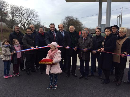 Inauguration_Station_Service_Coussac_Bonneval